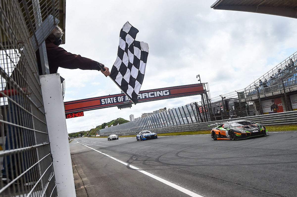 ORANGE1 FFF Racing Team by ACM scores more podiums in the GT World Challenge Europe